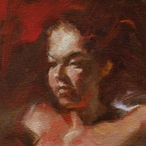 Female Torso Study, Nude